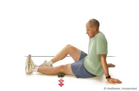 Isometric exercise for the quadriceps